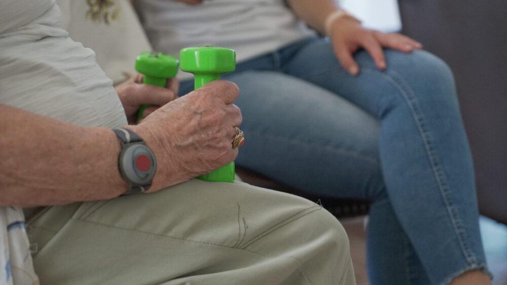 beweeggeluk voor ouderen